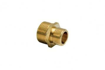 Double Male Thread Coupling